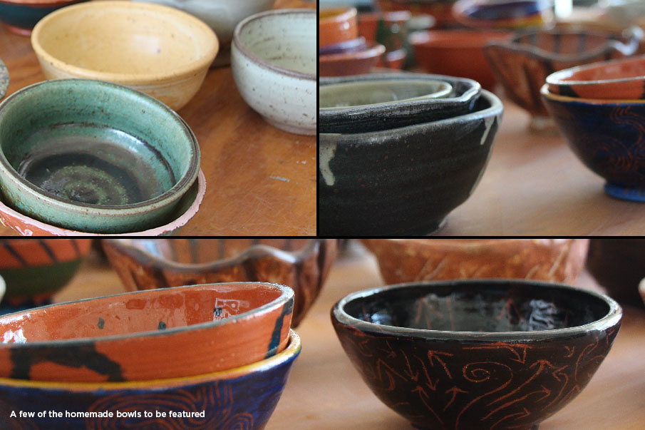 bowls collage