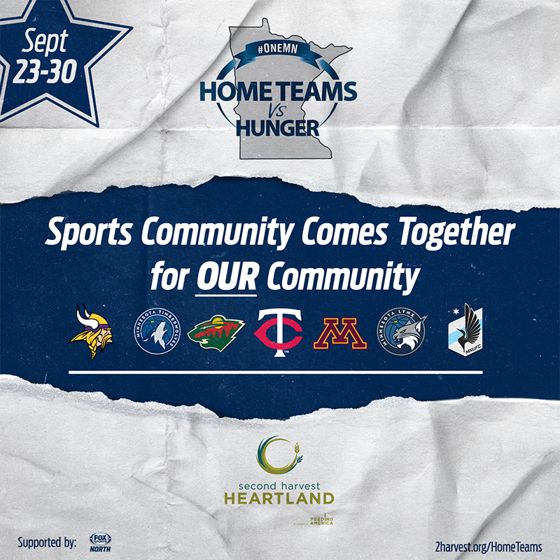 Home Teams vs Hunger campaign