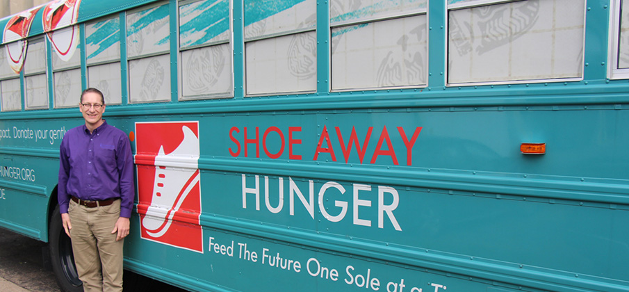 shoe away bus