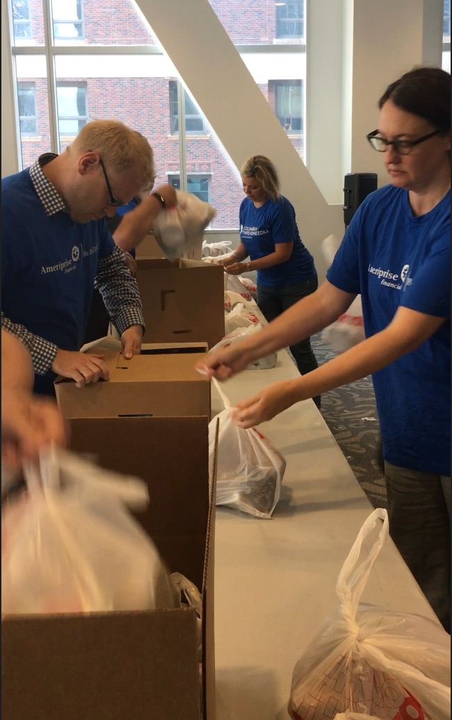 Ameriprise Financial Day of Service