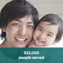 532000 people served square