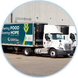 Second Harvest Heartland delivery truck